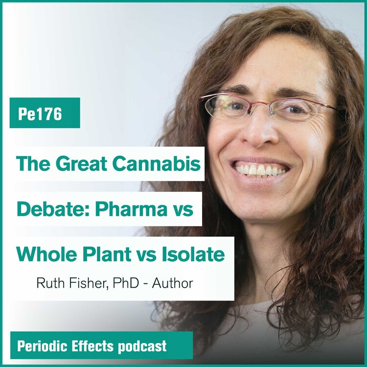 Dr. Fisher on Periodic Effects Podcast Pe176: Pharma vs Whole Plant vs Isolates