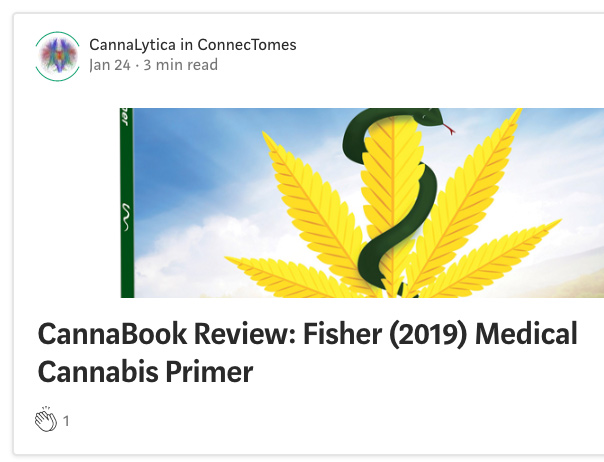 Medical Cannabis Primer Reviewed by Research Lead at CannaLytica